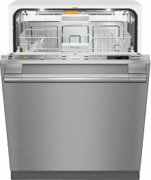 G 6565 SCVi SF AM Fully-integrated, full-size dishwasher with hidden control panel, 3D cutlery tray and CleanTouch Steel panel***FLOOR MODEL CLOSEOUT PRICING***