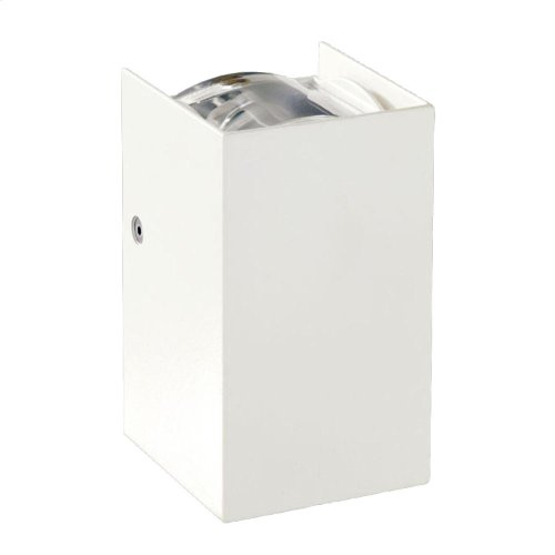 SCONCE,2X3W LED - White