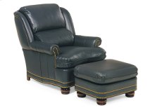 Austin High Back Chair and Ottoman