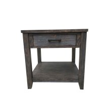 Rustic Nutmeg Side Table