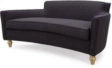 Oslo Black Herringbone Sofa