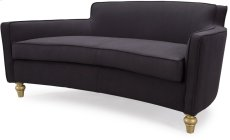 Oslo Black Herringbone Sofa Product Image