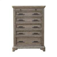 Bristol 6 Drawer Chest in Elm Brown Product Image