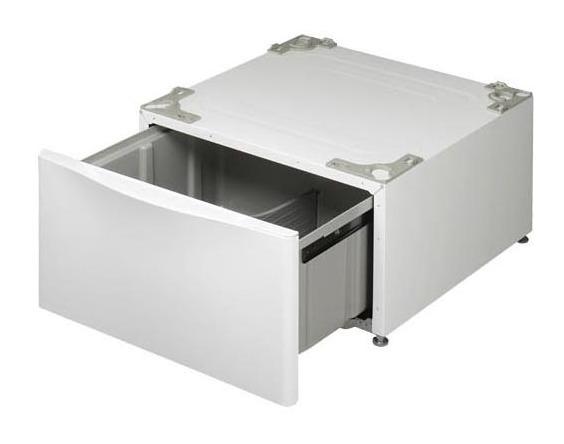 Laundry Pedestal - White  WHITE