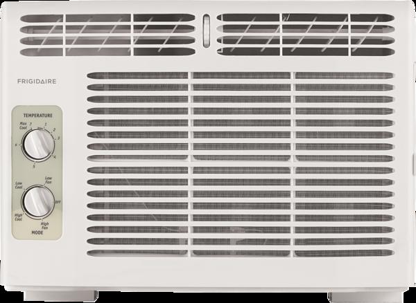 Frigidaire 5,000 BTU Window-Mounted Room Air Conditioner  WHITE