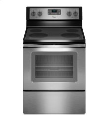 5.3 Cu. Ft. Freestanding Electric Range with Easy Wipe Ceramic Glass Cooktop [SCRATCH  & DENT]
