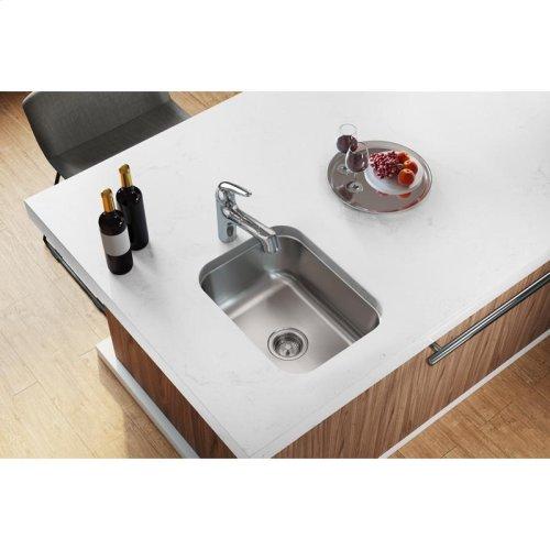 "Dayton Stainless Steel 16"" x 20-1/2"" x 8"", Single Bowl Undermount Sink"