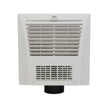 WhisperFit-Warm 70 CFM Low Profile Ventilation Fan/Heater Solution for Small Bathrooms