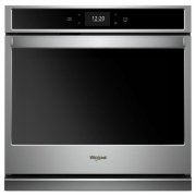 Whirlpool® 5.0 cu. ft. Smart Single Wall Oven with True Convection Cooking - Fingerprint Resistant Stainless Steel Product Image