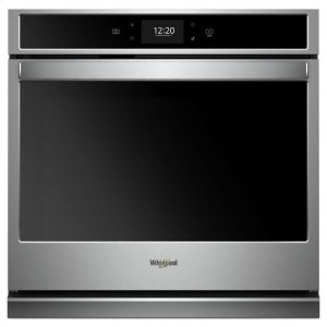 WHIRLPOOLWhirlpool(R) 5.0 cu. ft. Smart Single Wall Oven with True Convection Cooking - Fingerprint Resistant Stainless Steel