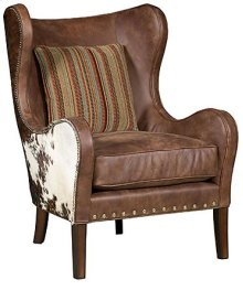 Marlin Leather Fabric Chair