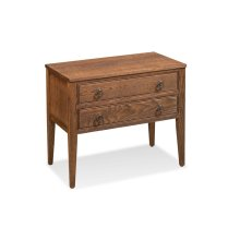 Hamptons 2-Drawer Nightstand
