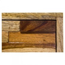 Brick Nightstand - 2 drawers