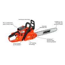 ECHO CS-370F 36.3cc Easy-Starting Chain Saw