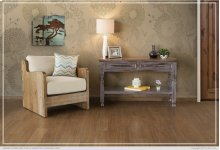 Sofa Table w/ 2 Drawers -Lavander finish