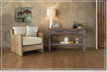 Sofa Table w/ 2 Drawers -Lavander finish