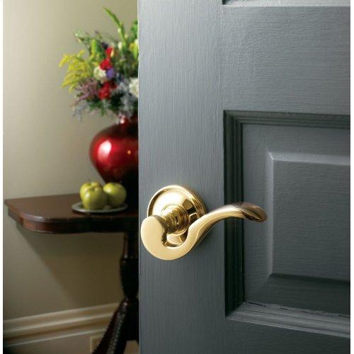 Lifetime Polished Brass 5152 Estate Lever
