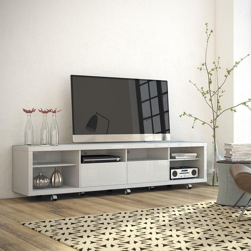 Cabrini TV Stand 2.2 in White Gloss