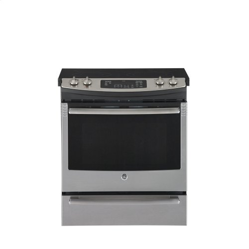 "30"" Slide-In CleanDesign Electric range"