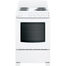 """Hotpoint® 24"""" Electric Free-Standing Front-Control Range"""