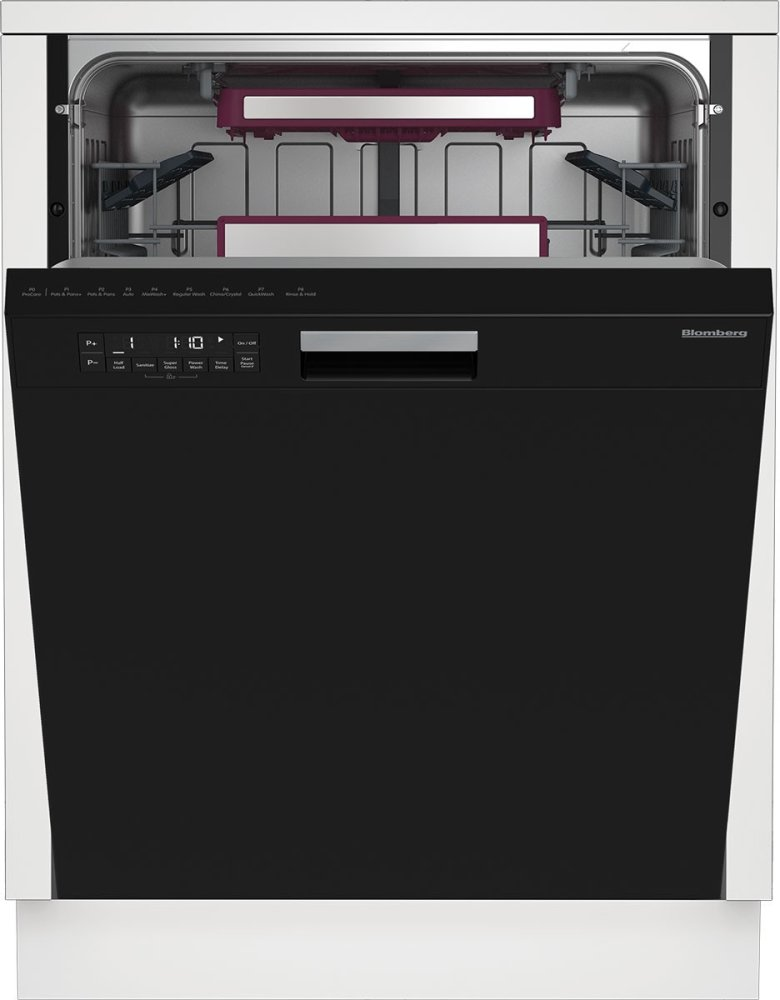 dwt28500b in black by blomberg appliances in pleasant hill ca 24 rh friedmansappliance com Blomberg Appliances Blomberg Dishwasher Problems