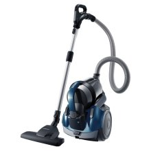 VC-F500G Twin-Chamber Bagless Canister Vacuum for Multiple Surfaces (Earth Blue)