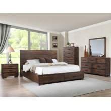 Crown Mark B8200 Cranston Storage Queen Bedroom