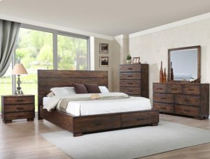 Crown Mark B8200 Cranston Storage King Bedroom