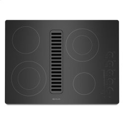 """Jenn-Air® Electric Radiant Downdraft Cooktop with Electronic Touch Control, 30"""" - Black"""