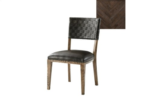 Coleshill Dining Chair, Dark Echo Oak