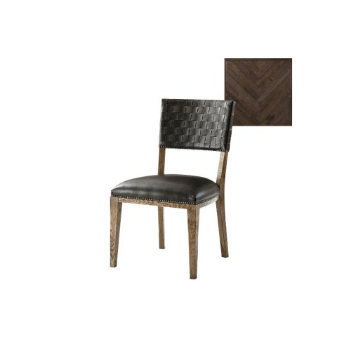 Coleshill Dining Chair, Dark Echo Oak