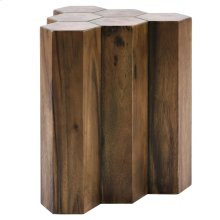 Gannon 6 Logs Side Table, Natural