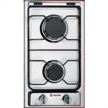 """Stainless Steel 12"""" Gas Cooktop"""