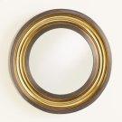 Round Channel Mirror-Brass/Bronze Product Image