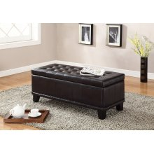 7072 Brown Storage Bench