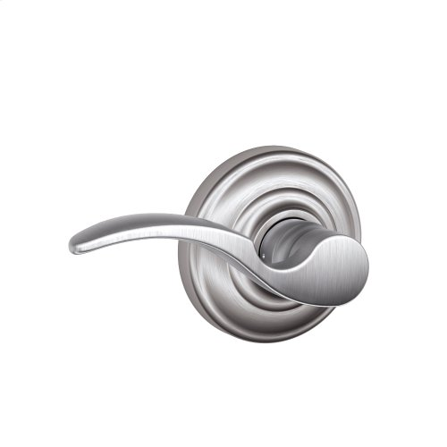 St. Annes Lever with Andover trim Non-turning Lock - Satin Chrome