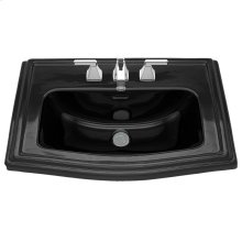 Clayton® Self Rimming Lavatory - Ebony