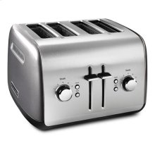 KitchenAid® 4-Slice Toaster with Manual High-Lift Lever - Liquid Graphite