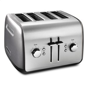KITCHENAIDKitchenAid(R) 4-Slice Toaster with Manual High-Lift Lever - Liquid Graphite