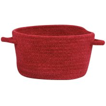 Ruby Red Chenille Creations Basket