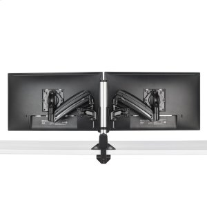 Chief ManufacturingKX Low-Profile Dual Monitor Arm, Column Desk Mount, Black