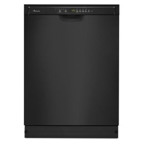 Amana® Tall Tub Dishwasher with Stainless Steel Interior - Black