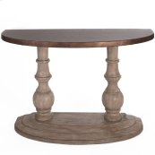 Half Moon Sofa Table Base