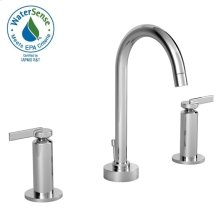 Stoic Widespread Lavatory Faucet - Cy Handles - Polished Chrome
