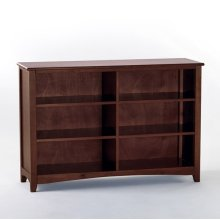 Horizontal Bookcase (Cherry)