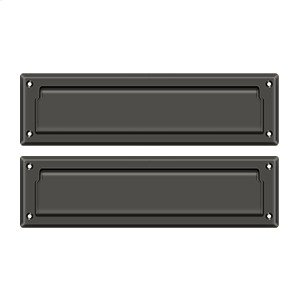 """Mail Slot 13 1/8"""" with Interior Flap - Oil-rubbed Bronze"""