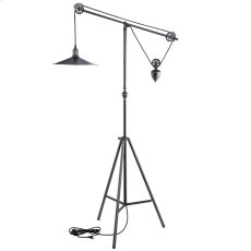 Credence Floor Lamp in Silver Product Image