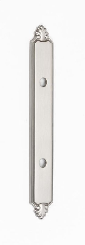 Bella Backplate A1457-3 - Satin Nickel