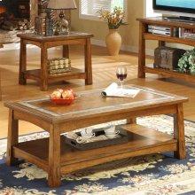Craftsman Home - Coffee Table - Americana Oak Finish