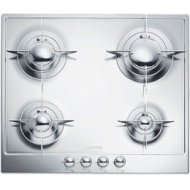 "24"" ""Renzo Piano Design"" Gas Cooktop Full stainless steel body"